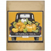 Fall Black Truck Wrapped Tea