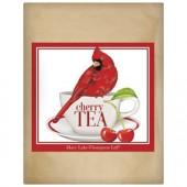 Cardinal Cherry Teacup Paper Bag Tea