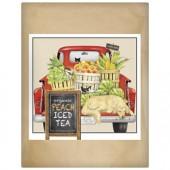 Red Truck Market Paper Bag Tea