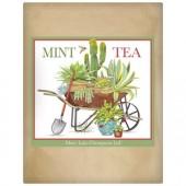 Cactus Wheelbarrow Paper Bag Tea
