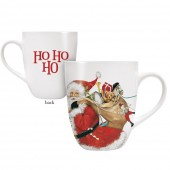 Santa Toy Bag Mug